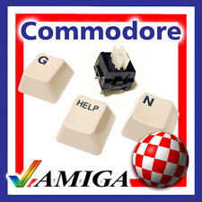 COMMODORE AMIGA 1000 KEYBOARD REPLACEMENT KEY CAP + SWITCH