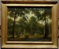 François Louis Français, 1870, Bénézit, Cote Enorme! Ecole de Barbizon! Superbe!