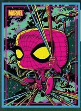 👑 Target Exclusive Marvel Spiderman Black Light Funko Pop! POSTER - IN HAND!👑