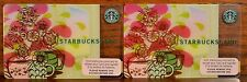 2007 STARBUCKS Gift Card: MORNING INSPIRATION...New With PIN Intact...Lot Of 2