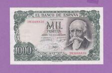 (Ref: E.3M) BILLET D'ESPAGNE 1000 PESETAS 1971 (NEUF)