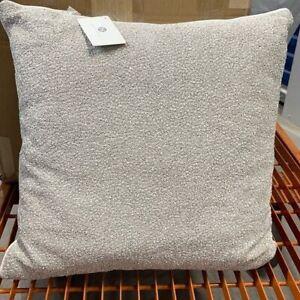 "Hotel Collection Interlattice Beaded 20"" Square Decorative Pillow"