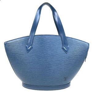 100% Authentic Louis Vuitton Epi Saint Jacques Hand Bag M52275 [Used] {07-0267}