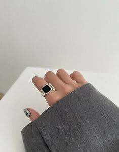 Ring S925 Silber flexibel für Unisex
