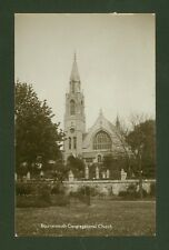 Bournemouth Congregational Church - 1930's Photographic Postcard