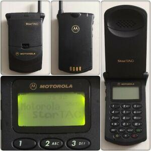 Motorola StarTAC 130 (MG2-4D11) Mobile Phone (O2/Tesco/Vodafone) **PLEASE READ**