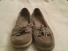 Womens Sperry Boat Shoes top sider Gray Size 8 M