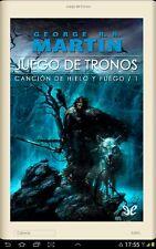 Descarga JUEGO DE TRONOS, 5 libros EPUB