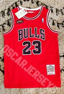 Maillot Jersey NBA Vintage Michael Jordan Chicago Bulls 23 Edition FINAL 97-98