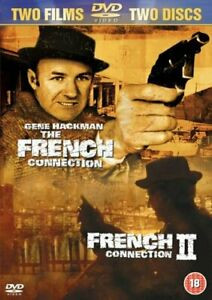The French Connection 1 & 2 DVD Gene Hackman Region 4 New & Sealed