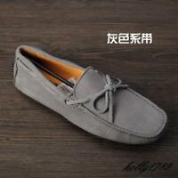 hot sale new Mens suede leather moccasins slip on loafer Casual comfy Doug shoes
