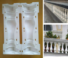 2 Piece/Set Moulds Balustrades Mold for Concrete Plaster Cement Plastic Casting