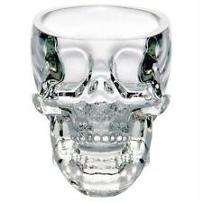 5x New Crystal Skull Head Vodka Whiskey Shot Glass Cup Drinking Ware Home Bar bx
