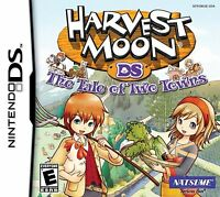 Harvest Moon: The Tale of Two Towns [Nintendo DS DSi, Farm Life, RPG Simulation]