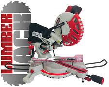 8 Inch Sliding Compound Mitre Saw 240v Single Bevel Chop Laser