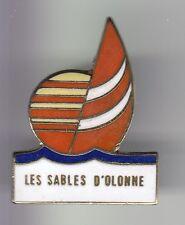 RARE PINS PIN'S .. TOURISME VENDEE MER VOILE SOLEIL LES SABLES D' OLONNE 85 ~DK