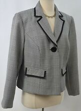 Giorgio Sant 'Angelo womens coat Blazer suit Jacket houndstooth Size 14W NEW VTG