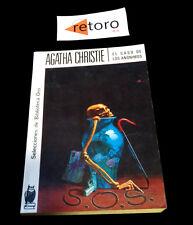BOOK LIBRO EL CASO DE LOS ANONIMOS Agatha Christie Biblioteca Oro 148 Ed. 1982