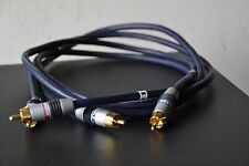 Monster Cable InterLink 400MK II 1m Pair RCA audio Interconnect cables