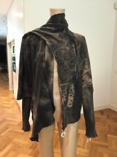 DIESEL Women's Jacket WITH Attached Scarf SUBLIME!! Size MEDIUM NEW WITHOUT TAGS