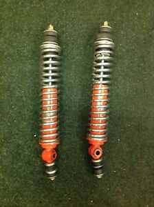 A Pair of Front Lotus Elan Koni Classic Shock Absorbers and Springs