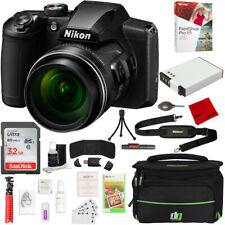 Nikon Coolpix B600 16Mp 60x Optical Zoom Digital Camera w/ Accessories Bundle