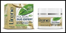 Lirene Anti Wrinkle Day and Night Face Cream Lift Firm Skin Folacin Duo 40+