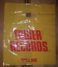 1 Tower Records Video Books Shopping Bag Collectible  15'' x 18'' Iconic New