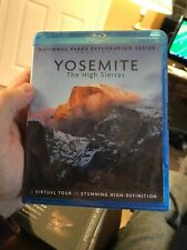 National Parks Series / Yosemite: The High Sierras [New Blu-ray] Sealed