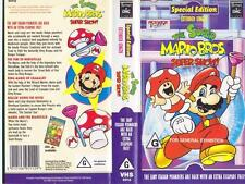 THE SUPER MARIO BROS EXTENDED LENGTH  SUPER SHOW  VHS PAL VIDEO~ A RARE FIND
