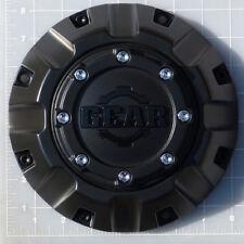 CAP-8C-M14 / Gear Alloy Satin Black Bolt-On Center Cap