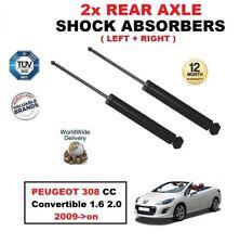 PARA PEUGEOT 308CC Descapotable 1.6 2.0 2009-on > Trasero Izquierdo + derecho