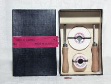 Unimat DB SL Mini Lathe - Vintage Chisels & Grinding Wheels Set, New
