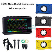 Ds213 Digital Oscilloscope Small Rf Analyzer Car Repair 4 Channels With 4 Probes