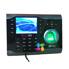 Spanish Language Fingerprint Time Clock Terminal ZKTeco Icock360 WIth RFID Card