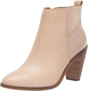 Lucky Brand Women's Nesly Ankle Boot, Stone, Size 8.5 xDZP