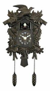 Acctim Hamburg Cuckoo Pendulum Wall Clock - Brown