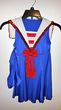 Sailor Outfit for Dance Costume Included bloomers  Child C-12 (med) Dress