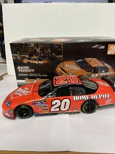 2007 Action 1/24 Tony Stewart #20 Home depot Bud Shootout Raced Win Limited Edit