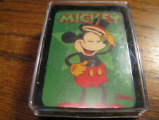 Mickey Mouse Mini Playing Cards    Disney    Lot# A