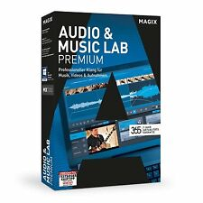 MAGIX Audio & Music Lab Premium (2017) - NEU & OVP