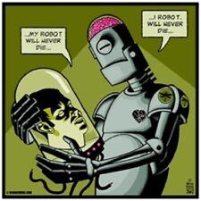 I Robot Art Print Poster Brian Ewing 2009