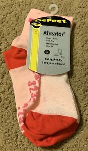 DeFeet Socks Aireator Thin Socks Pink & Red Size S