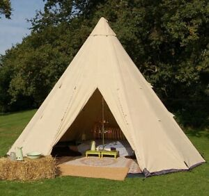 Waterproof Family Glamping Camping Bell Yurt Indian Tent NEW