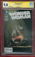 Wonder Woman 39 CGC 2X SS 9.8 David Meredith Finch Variant Justice League Movie