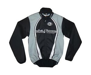 new Louis Garneau Neo Pro men's wind jacket cycling microzone high collar black