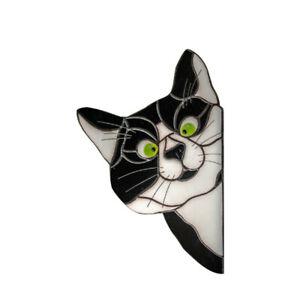 Cat Sun Catcher Kitten Window Sticker Suncatcher Car Glass Home Decor 3D Cartoon