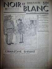 BENOÎT DORGELES DESSINS VILLEMOT LISSAC NOIR ET BLANC N° 3 ALBIN MICHEL 04/1934