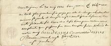PAPIER ANCIEN PARCHEMIN DECHARGE CESSION DE CREANCES MONTREJEAU 1810