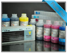 Rihac Refillable Starter Kit for Epson 7800 9800 T6112-T6118 with PIGMENT INKS